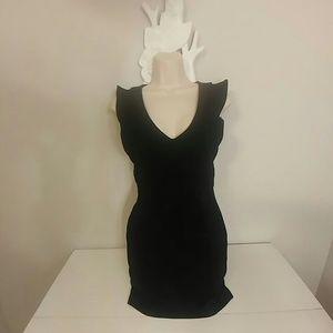 Zara Trafaluc sexy black mini dress